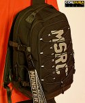 몬스터리퍼블릭(MONSTER REPUBLIC) CORDURA MSRC LOGO BACKPACK / BLACK