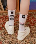 로라로라(ROLAROLA) (SC-19511) ROLAROLA RECORDS SOCKS WHITE