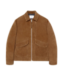 비바스튜디오(VIVASTUDIO) LEATHER CWU JACKET IA [CAMEL]