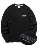 마하그리드(MAHAGRID) BACK THIRD LOGO LS TEE BLACK(MG2ASMT557A)