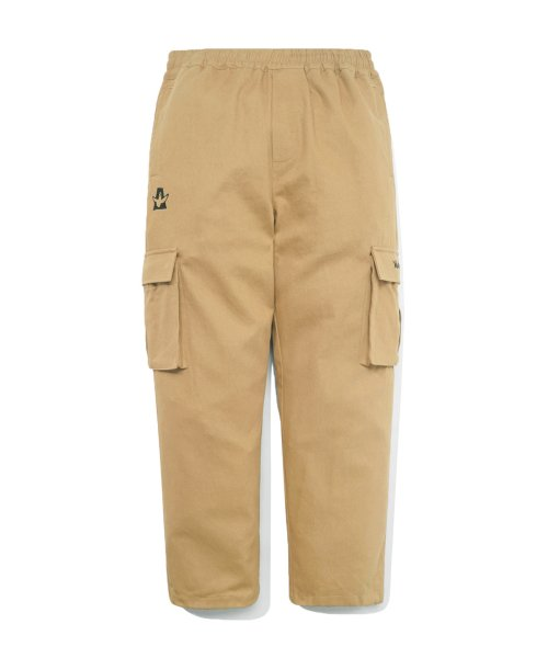 마크 곤잘레스(MARK GONZALES) M/G COTTON CARGO PANTS BEIGE