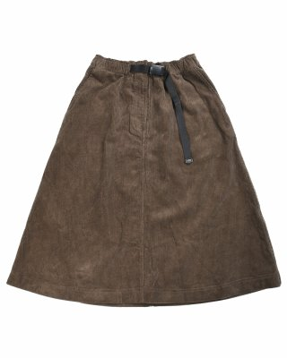 비슬로우(BESLOW) 19FW CORDUROY POCKET SKIRT DARK OLIVE