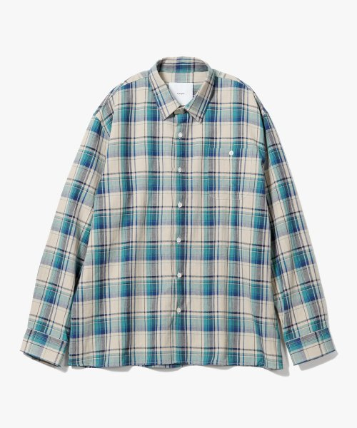 제로(XERO) HBT Check Shirts [Green]
