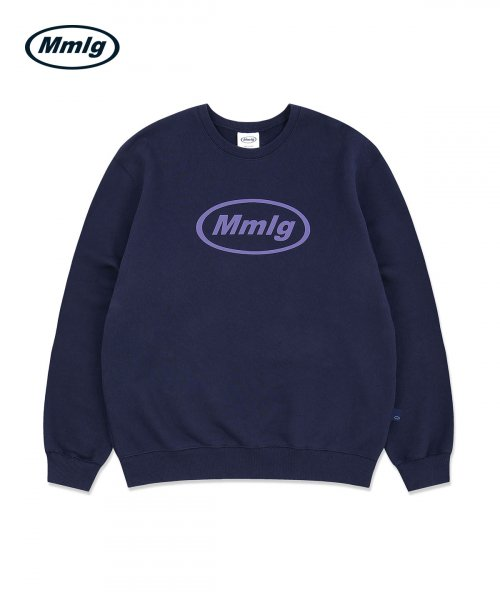 팔칠엠엠(87MM) [Mmlg] MMLG SWEAT (GRAYISH NAVY)
