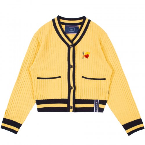 로맨틱크라운(ROMANTIC CROWN) UNLOCK YOUR MIND CARDIGAN_BUTTER