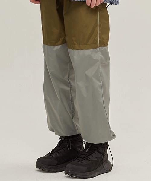 애플앤딥(APPLENDIP) SIDE LINE TRACK PANTS_KHAKI