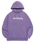 마크 곤잘레스(MARK GONZALES) M/G SIGN LOGO HOODIE PURPLE