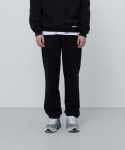 에이카화이트(AECA WHITE) FINEST COTTON SWEATPANTS-BLACK