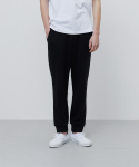 에이카화이트(AECA WHITE) FINEST COTTON JOGGER PANTS-BLACK