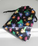 소곤소곤(SOGONSOGON) Windy flower string pouch m