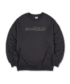 Retro Outline Sweatshirt [CHARCOAL]