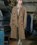 밸런스우드() SQUARE TRENCH COAT (BEIGE)