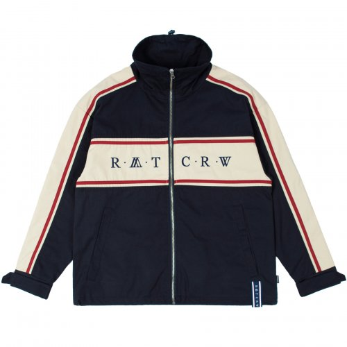 로맨틱크라운(ROMANTIC CROWN) 21C BOYS RACING JACKET_NAVY