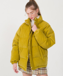 Duck Down Corduroy Jumper(LIME)