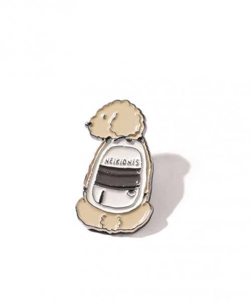 네이키드니스(NEIKIDNIS) PUPPY BAG PIN / BEIGE