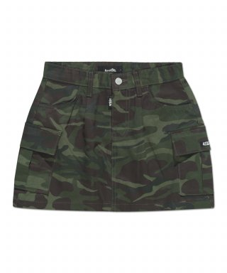 아파트먼트(APARTMENT) (W) ARMY86 SKIRT - DEEPGREEN