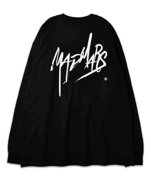 매드마르스(MADMARS) SKETCH LOGO LONG SLEEVE_BLACK