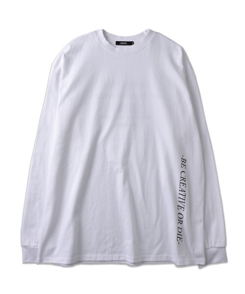 매드마르스(MADMARS) TIMES LONG SLEEVE_WHITE
