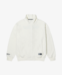 어드바이저리(ADVISORY) Fleece Zip-up Jacket - Off White
