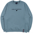 로맨틱크라운() RMTCRW LOGO SWEATSHIRT_LIGHT BLUE
