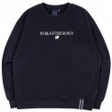 로맨틱크라운(ROMANTIC CROWN) RMTCRW LOGO SWEATSHIRT_NAVY