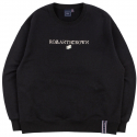 로맨틱크라운(ROMANTIC CROWN) RMTCRW LOGO SWEATSHIRT_BLACK