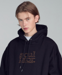 스컬프터(SCULPTOR) (normal)Retro Outline Hoodie [BLACK]
