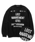 엘엠씨(LMC) LMC DOCUMENT OVERSIZED SWEATSHIRT black