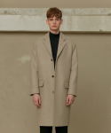 크리스크리스티(CHRIS CHRISTY) BEIGE WOOL CC COAT (TC1CTVW0801)