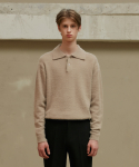 크리스크리스티(CHRIS CHRISTY) LBEIGE SOFT LONG HAIR PK KNITWEAR (TC1KNVF0901)