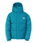널디(NERDY) Color Block Reversible Down Jacket Turquoise