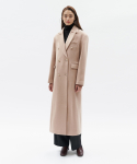 커렌트(CURRENT) DOUBLE COAT WOMEN [LIGHT PINK]
