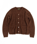 아웃스탠딩(OUTSTANDING) 19FW MOHAIR CARDIGAN [BROWN]