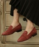 리플라(LI FLA) 19B604 wine loafer