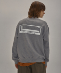 레투(LE2) [기모] LE2 SIGNATURE LOGO SWEAT SHIRT[GREY]