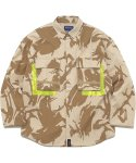 디스이즈네버댓(THISISNEVERTHAT) Jungle Shirt Jacket Desert Camo
