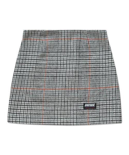 아파트먼트(APARTMENT) (W) SNOWLUCK SKIRT - ORANGE