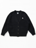 벤시몽() SLOW B HEAVY WOOL CARDIGAN - NAVY (UNISEX SHORT)