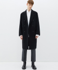 가먼트레이블(GARMENT LABLE) GL Double Coat - Black