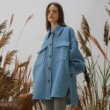 밀로그램(MILLOGREM) Macell Coat - Sky Blue