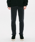 디프리크() Straight Cropped Jeans - Black