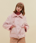 오아이오아이(OiOi) BIG POCKET FUR MUSTANG_pink