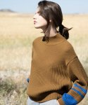 아바몰리(AVA MOLLI) Harold knit (camel brown)