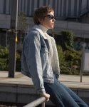 플랙(PLAC) WOMENS WARM DENIM JACKET (PWON4JKR84WLI1)