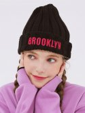 BROOKLYN Knit Beanie (SF4GCF564BK)