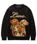 엘엠씨(LMC) LMC HUNTING DOG KNIT SWEATER black