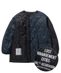 엘엠씨(LMC) LMC QUILTED LINING JACKET black