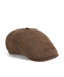 와일드 브릭스(WILD BRICKS) BG CHECK HUNTING CAP (brown)