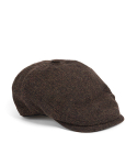 와일드 브릭스(WILD BRICKS) BS HERRINGBONE HUNTING CAP (brown)