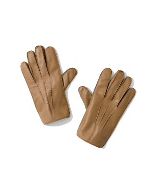 유니폼브릿지(UNIFORM BRIDGE) leather glove beige